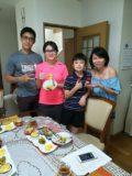 Hoh family and Rachel SG June 2018