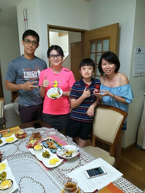 Hoh family and Rachel
